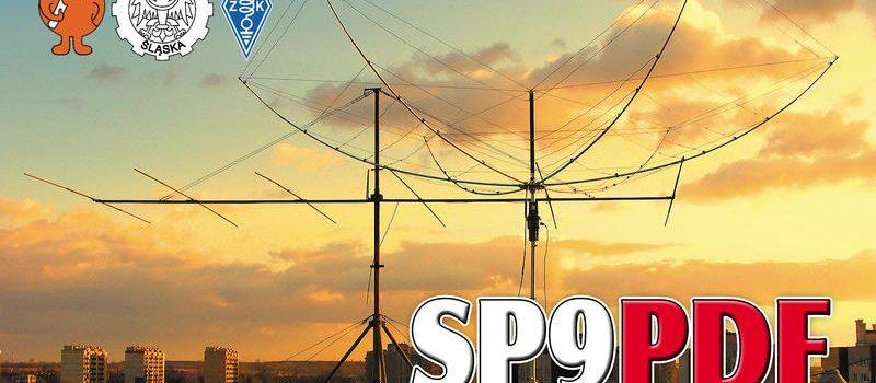 Karta QSL - SP9PDF
